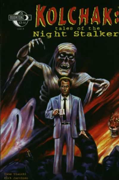 Kolchak: Tales of the Night Stalker #1 Comic Books - Covers, Scans, Photos  in Kolchak: Tales of the Night Stalker Comic Books - Covers, Scans, Gallery