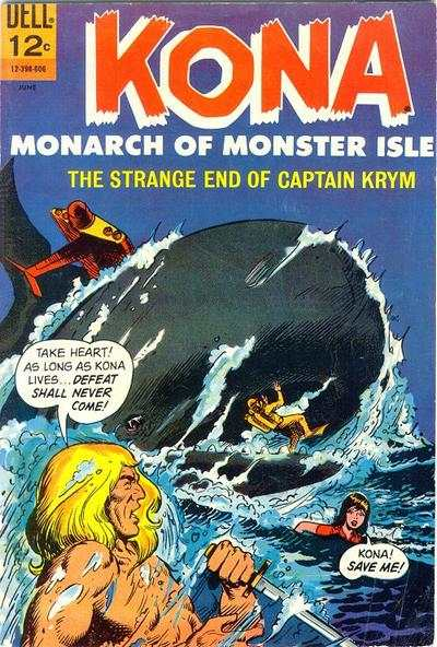 Kona #18 Comic Books - Covers, Scans, Photos  in Kona Comic Books - Covers, Scans, Gallery