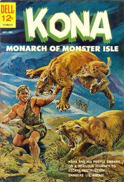 Kona #4 Comic Books - Covers, Scans, Photos  in Kona Comic Books - Covers, Scans, Gallery