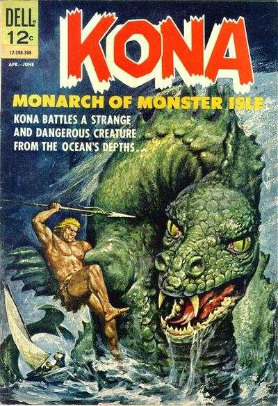 Kona #6 comic books - cover scans photos Kona #6 comic books - covers, picture gallery