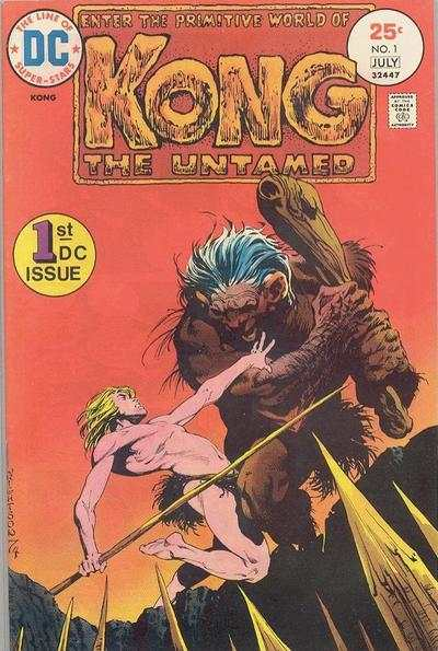Kong the Untamed #1 comic books - cover scans photos Kong the Untamed #1 comic books - covers, picture gallery