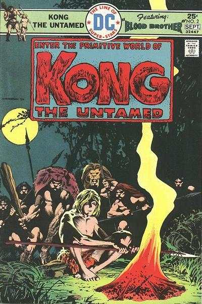 Kong the Untamed #2 Comic Books - Covers, Scans, Photos  in Kong the Untamed Comic Books - Covers, Scans, Gallery