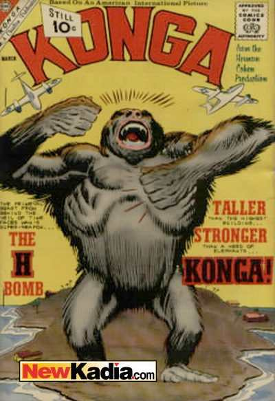 Konga #5 Comic Books - Covers, Scans, Photos  in Konga Comic Books - Covers, Scans, Gallery