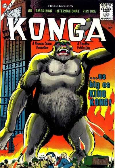 Konga comic books
