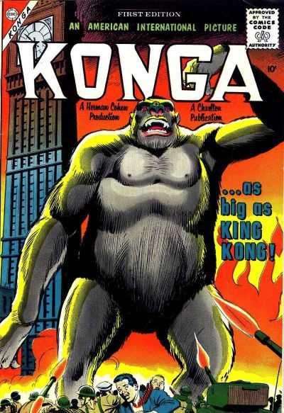 Konga Comic Books. Konga Comics.