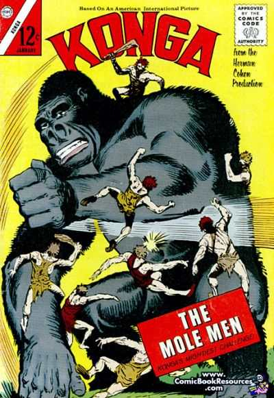Konga #10 Comic Books - Covers, Scans, Photos  in Konga Comic Books - Covers, Scans, Gallery