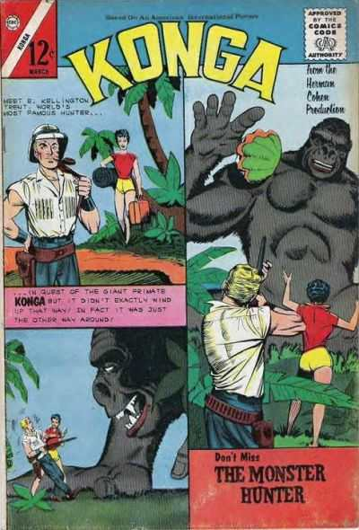 Konga #11 Comic Books - Covers, Scans, Photos  in Konga Comic Books - Covers, Scans, Gallery