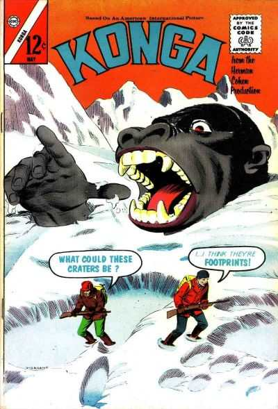 Konga #12 Comic Books - Covers, Scans, Photos  in Konga Comic Books - Covers, Scans, Gallery