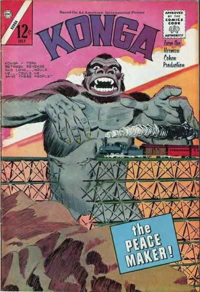 Konga #13 Comic Books - Covers, Scans, Photos  in Konga Comic Books - Covers, Scans, Gallery