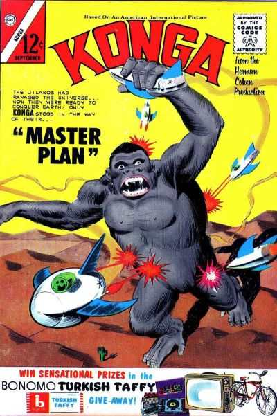 Konga #14 Comic Books - Covers, Scans, Photos  in Konga Comic Books - Covers, Scans, Gallery