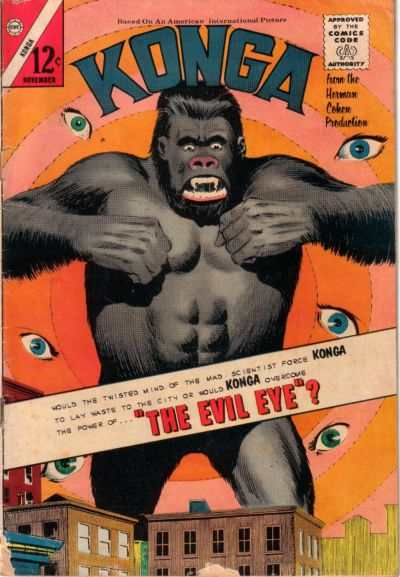 Konga #15 Comic Books - Covers, Scans, Photos  in Konga Comic Books - Covers, Scans, Gallery