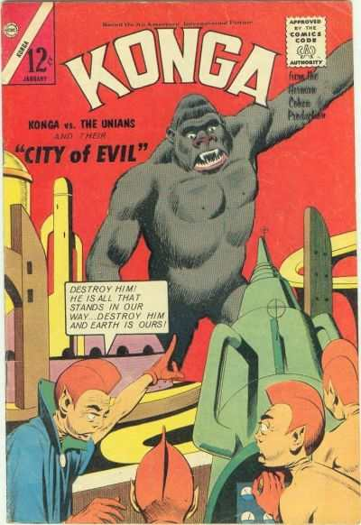 Konga #16 Comic Books - Covers, Scans, Photos  in Konga Comic Books - Covers, Scans, Gallery