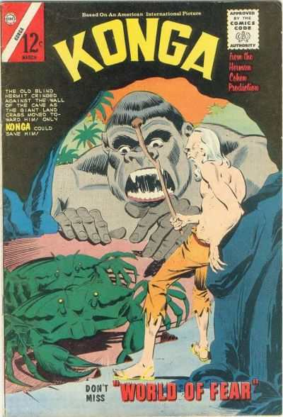 Konga #17 Comic Books - Covers, Scans, Photos  in Konga Comic Books - Covers, Scans, Gallery