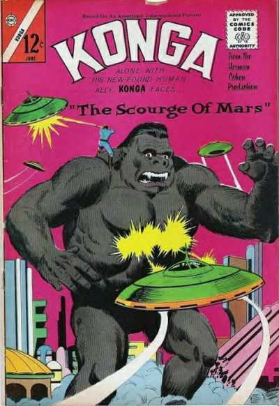 Konga #18 comic books - cover scans photos Konga #18 comic books - covers, picture gallery