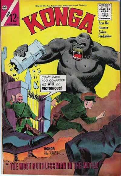 Konga #19 Comic Books - Covers, Scans, Photos  in Konga Comic Books - Covers, Scans, Gallery