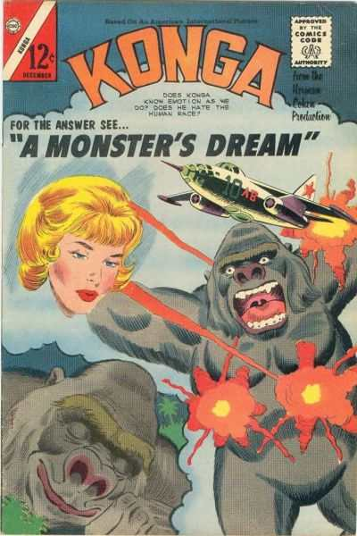 Konga #20 Comic Books - Covers, Scans, Photos  in Konga Comic Books - Covers, Scans, Gallery