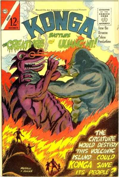 Konga #23 Comic Books - Covers, Scans, Photos  in Konga Comic Books - Covers, Scans, Gallery