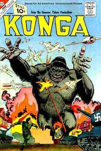 Konga #4 Comic Books - Covers, Scans, Photos  in Konga Comic Books - Covers, Scans, Gallery