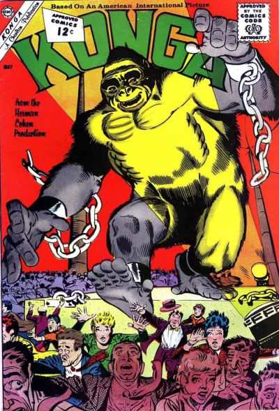 Konga #6 Comic Books - Covers, Scans, Photos  in Konga Comic Books - Covers, Scans, Gallery