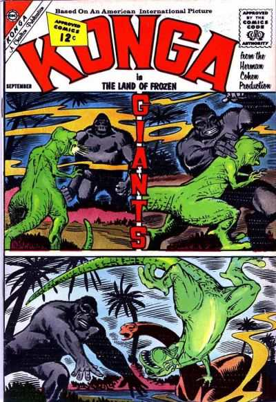 Konga #8 Comic Books - Covers, Scans, Photos  in Konga Comic Books - Covers, Scans, Gallery