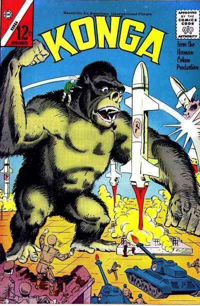 Konga #9 Comic Books - Covers, Scans, Photos  in Konga Comic Books - Covers, Scans, Gallery