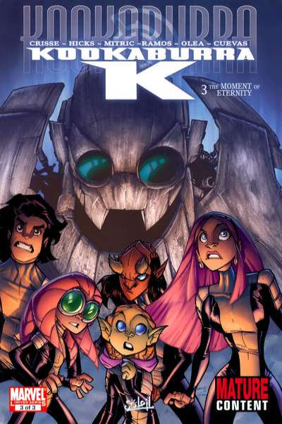 Kookaburra K #3 comic books for sale