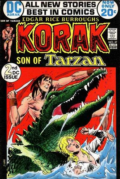 Korak: Son of Tarzan #47 comic books - cover scans photos Korak: Son of Tarzan #47 comic books - covers, picture gallery