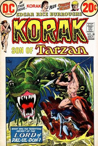 Korak: Son of Tarzan #48 comic books - cover scans photos Korak: Son of Tarzan #48 comic books - covers, picture gallery
