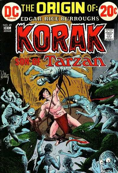 Korak: Son of Tarzan #49 comic books - cover scans photos Korak: Son of Tarzan #49 comic books - covers, picture gallery