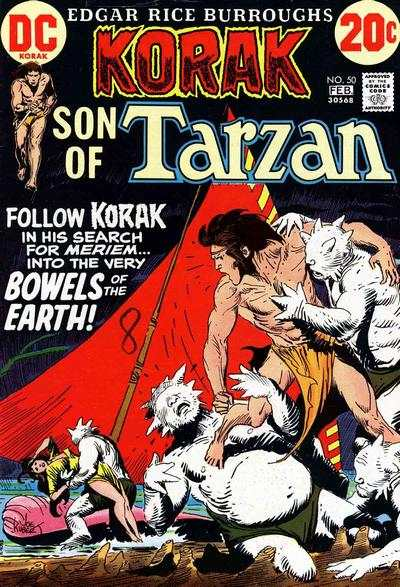 Korak: Son of Tarzan #50 comic books - cover scans photos Korak: Son of Tarzan #50 comic books - covers, picture gallery