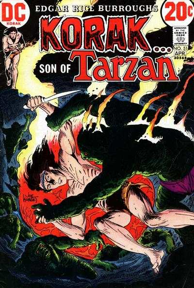 Korak: Son of Tarzan #51 comic books - cover scans photos Korak: Son of Tarzan #51 comic books - covers, picture gallery
