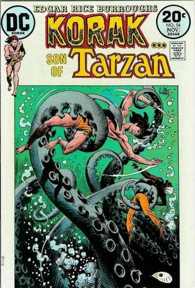 Korak: Son of Tarzan #54 comic books - cover scans photos Korak: Son of Tarzan #54 comic books - covers, picture gallery