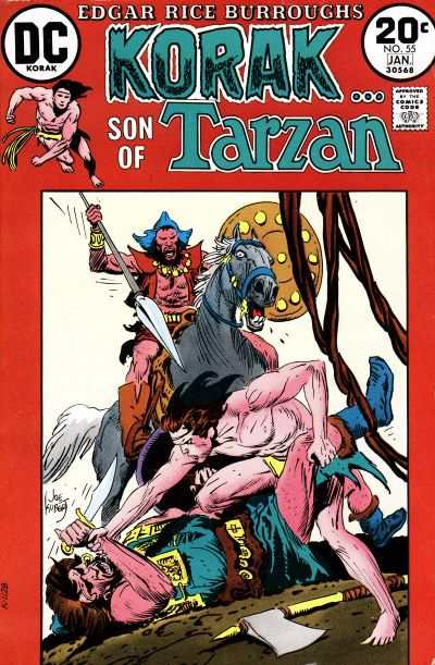 Korak: Son of Tarzan #55 comic books - cover scans photos Korak: Son of Tarzan #55 comic books - covers, picture gallery