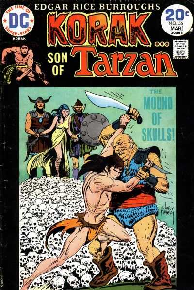 Korak: Son of Tarzan #56 comic books - cover scans photos Korak: Son of Tarzan #56 comic books - covers, picture gallery