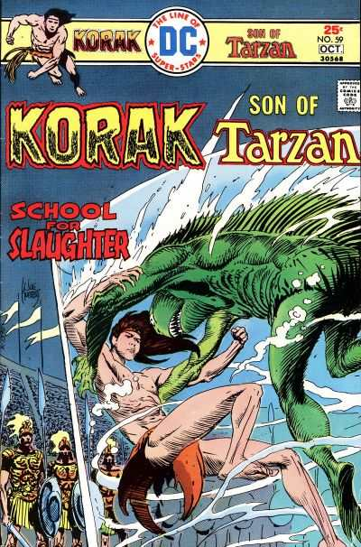 Korak: Son of Tarzan #59 comic books - cover scans photos Korak: Son of Tarzan #59 comic books - covers, picture gallery