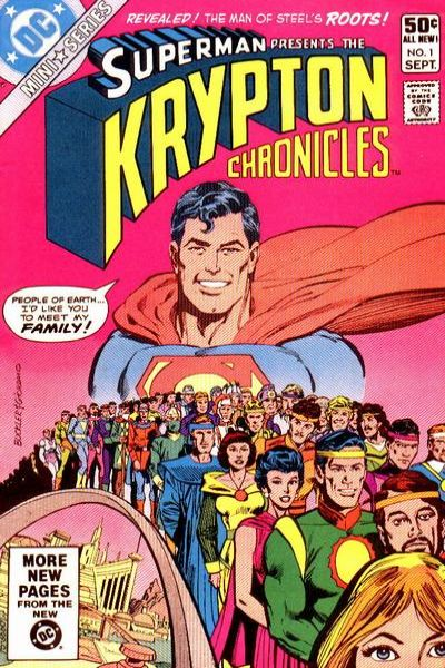Krypton Chronicles comic books