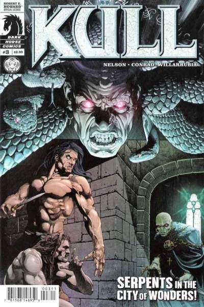 Kull #3 comic books - cover scans photos Kull #3 comic books - covers, picture gallery