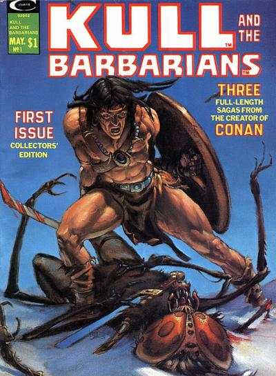 Kull and the Barbarians comic books