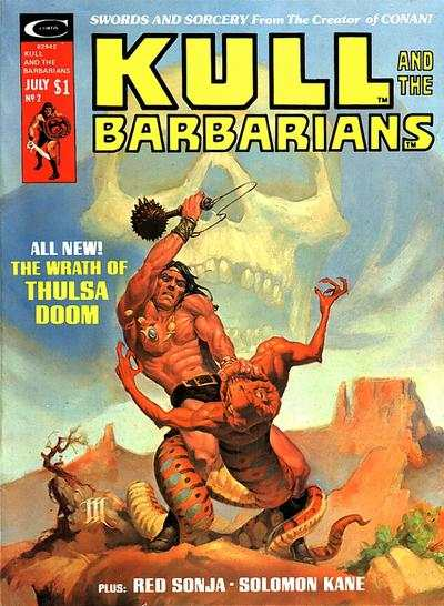 Kull and the Barbarians #2 comic books for sale