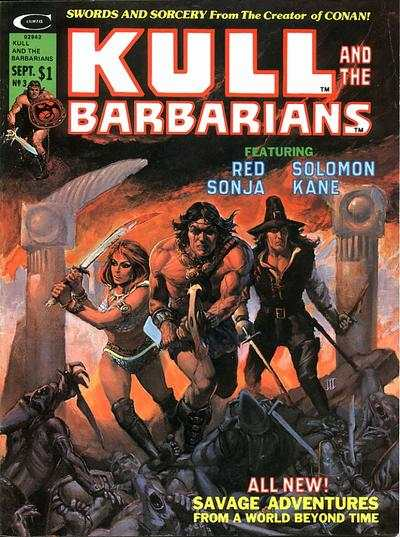 Kull and the Barbarians #3 comic books for sale