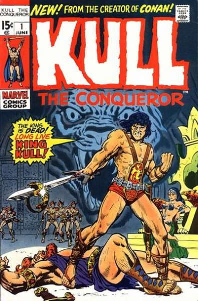 Kull the Conqueror #1 Comic Books - Covers, Scans, Photos  in Kull the Conqueror Comic Books - Covers, Scans, Gallery