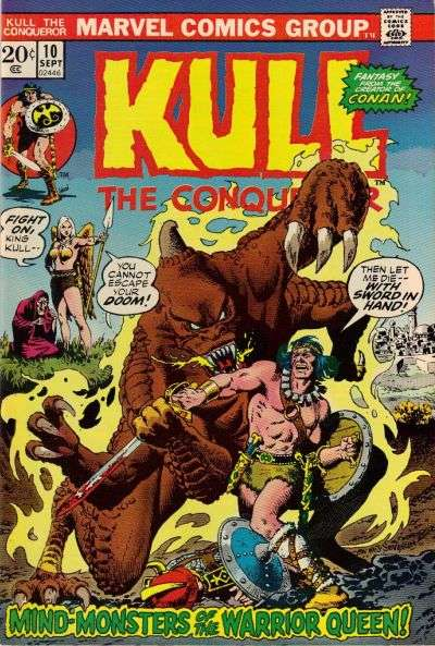 Kull the Conqueror #10 Comic Books - Covers, Scans, Photos  in Kull the Conqueror Comic Books - Covers, Scans, Gallery