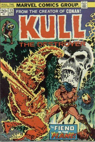 Kull the Conqueror #13 comic books for sale