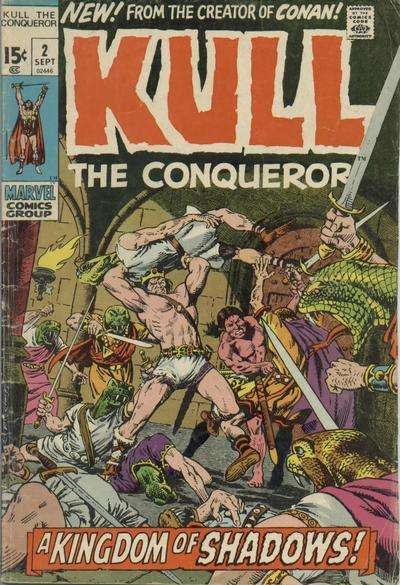 Kull the Conqueror #2 comic books for sale