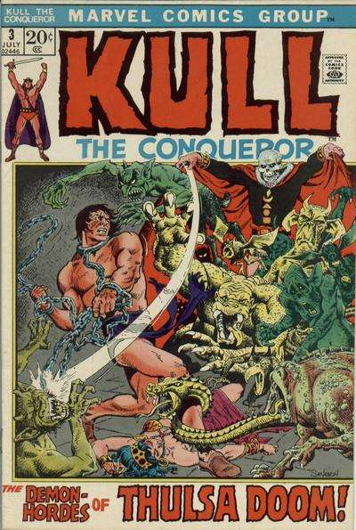Kull the Conqueror #3 Comic Books - Covers, Scans, Photos  in Kull the Conqueror Comic Books - Covers, Scans, Gallery