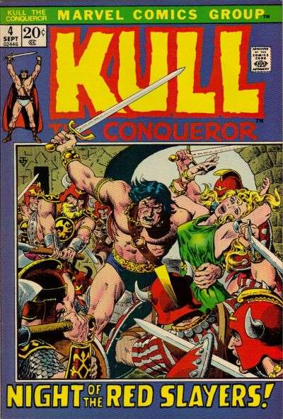 Kull the Conqueror #4 Comic Books - Covers, Scans, Photos  in Kull the Conqueror Comic Books - Covers, Scans, Gallery