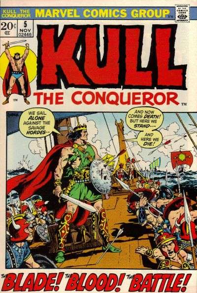 Kull the Conqueror #5 Comic Books - Covers, Scans, Photos  in Kull the Conqueror Comic Books - Covers, Scans, Gallery