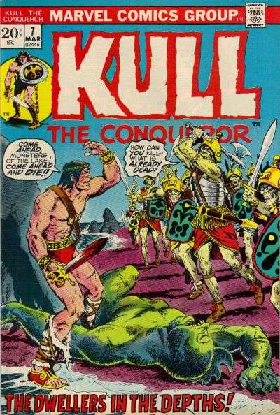 Kull the Conqueror #7 comic books for sale