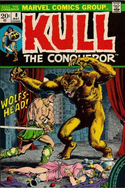 Kull the Conqueror #8 comic books for sale