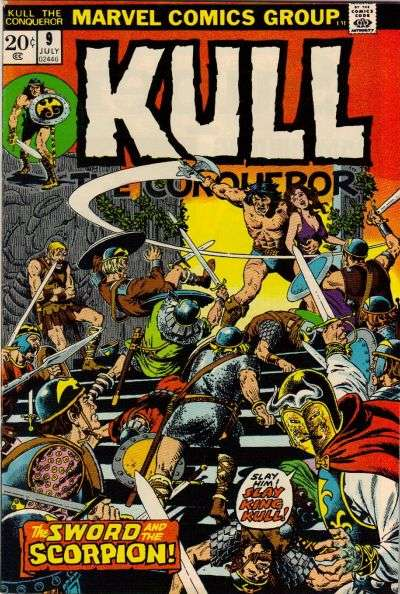 Kull the Conqueror #9 Comic Books - Covers, Scans, Photos  in Kull the Conqueror Comic Books - Covers, Scans, Gallery